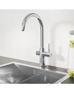 Grohe Blue Professional die NEUE Küchenarmatur mit Filterfunktion, C-Auslauf chrom