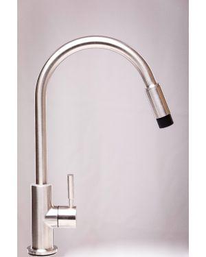 ROWA®  twin turbo (Kompakte Untertischanlage mit Edelstahl-Trinkwasserstandhahn)